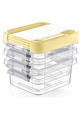 021070 HOBBY 3 PC GRAND STORAGE BOX 500 ML