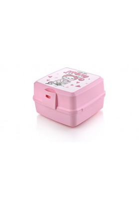 021175 HOBBY PREMIUM LUNCH BOX WITH FIGURED DESIGN