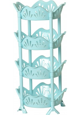 037 4 TIER DROPLET VEGETABLE RACK