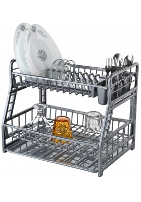 041103 HOBBY DOUBLE DECK DISH DRAINER