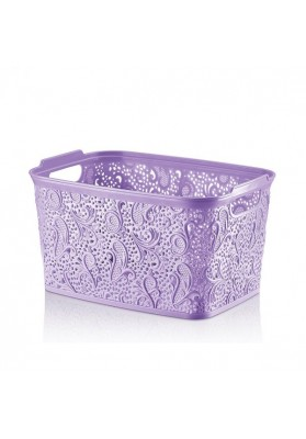 041207 HOBBY LACE PRACTICAL BASKET - 30 X 22 X 16 CM