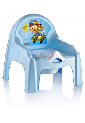 091103 HOBBY CICIM POTTY CHAIR (ASSORTED COLOURS)