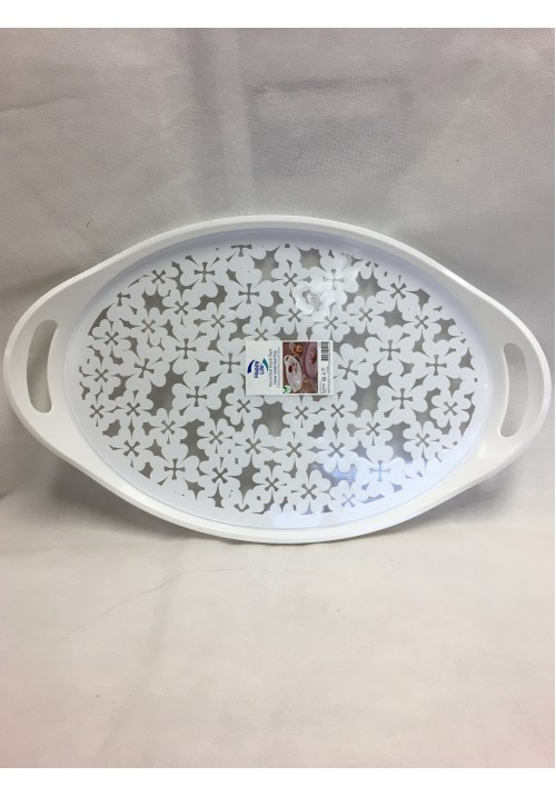 2312 HOBBY CLOVER OVAL TRAY SMALL