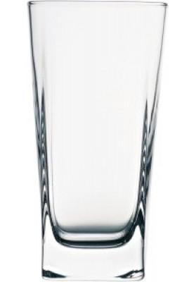 41300 PB 3 PC CARRE LONG DRINK GLASS 305 ML - SLV