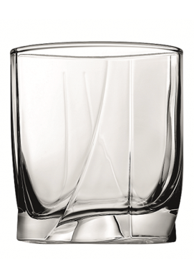 42348 PB 3 PC LUNA WHISKY GLASS IN SLEEVE - 368 ML
