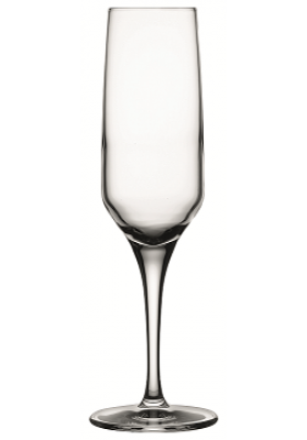 440079 PB 3 PC ALLEGRA CHAMPAGNE FLUTE GLASS IN SLEEVE - 195 ML