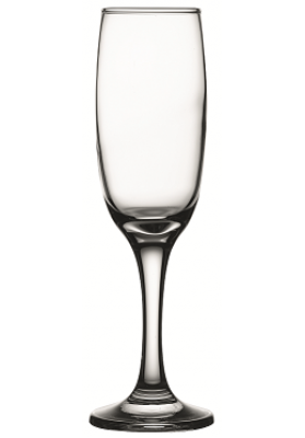 44704 PB 3 PC IMPERIAL CHAMPAGNE FLUTE GLASS IN SLEEVE - 210 ML