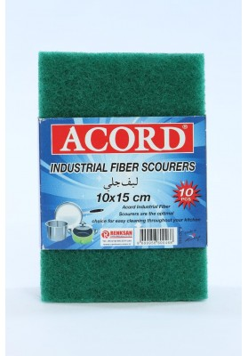 561 ACORD 10 PC IND GREEN FIBER SCOURING