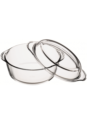 59003 PB BORCAM ROUND CASSEROLE DISH WITH LID IN GIFT BOX - 2.1 LT