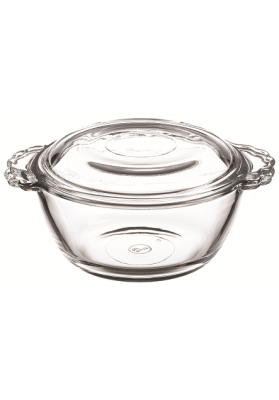 97343 PB BASIC ROUND BOWL WITH LID IN SLEEVE - 275 ML