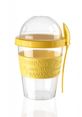 AP9199 TTZ TAKE AND GO YOGURT CUP WITH DOME 600 ML