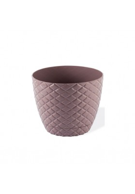 KRS202 DIAMOND CUT ROUND PLANT POT NO:2