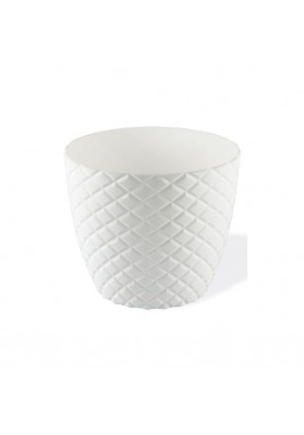 KRS203 DIAMOND CUT ROUND PLANT POT NO:3