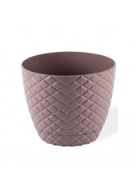 KRS204 DIAMOND CUT ROUND PLANT POT NO:4