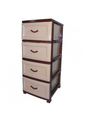 NW6019 LUXURY 4 DRAWER STORAGE UNIT