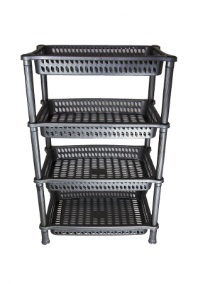 NW6061 RECTANGULAR 4 TIER MULTI PURPOSE RACK