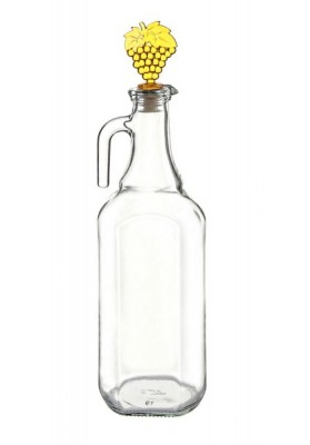 S113  PEARL PLAIN OIL & VINEGAR BOTTLE 750 ML
