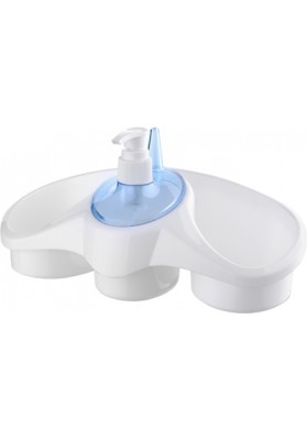 TP653 TITIZ SOAP DISPENSER WITH SPONGE HOLDER - 250 ML