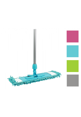 NW6048 CHENILLE MICROFAZE FLAT MOP WITH HANDLE