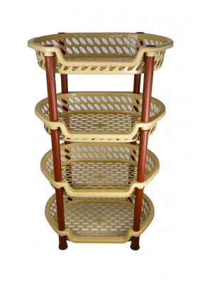NW6062 MULTI PURPOSE 4 TIER RACK